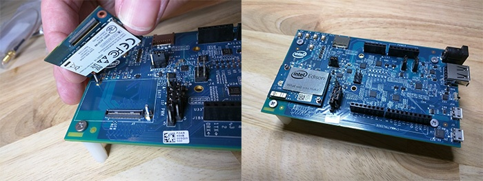 Getting started with the intel edison losant enterprise