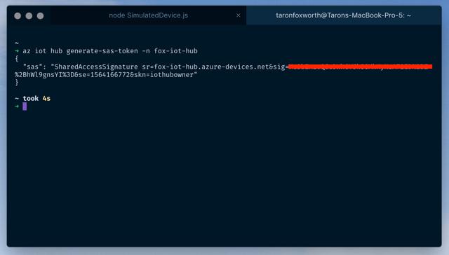 Generate Azure Token