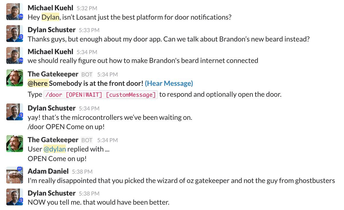 Losant Slack Team