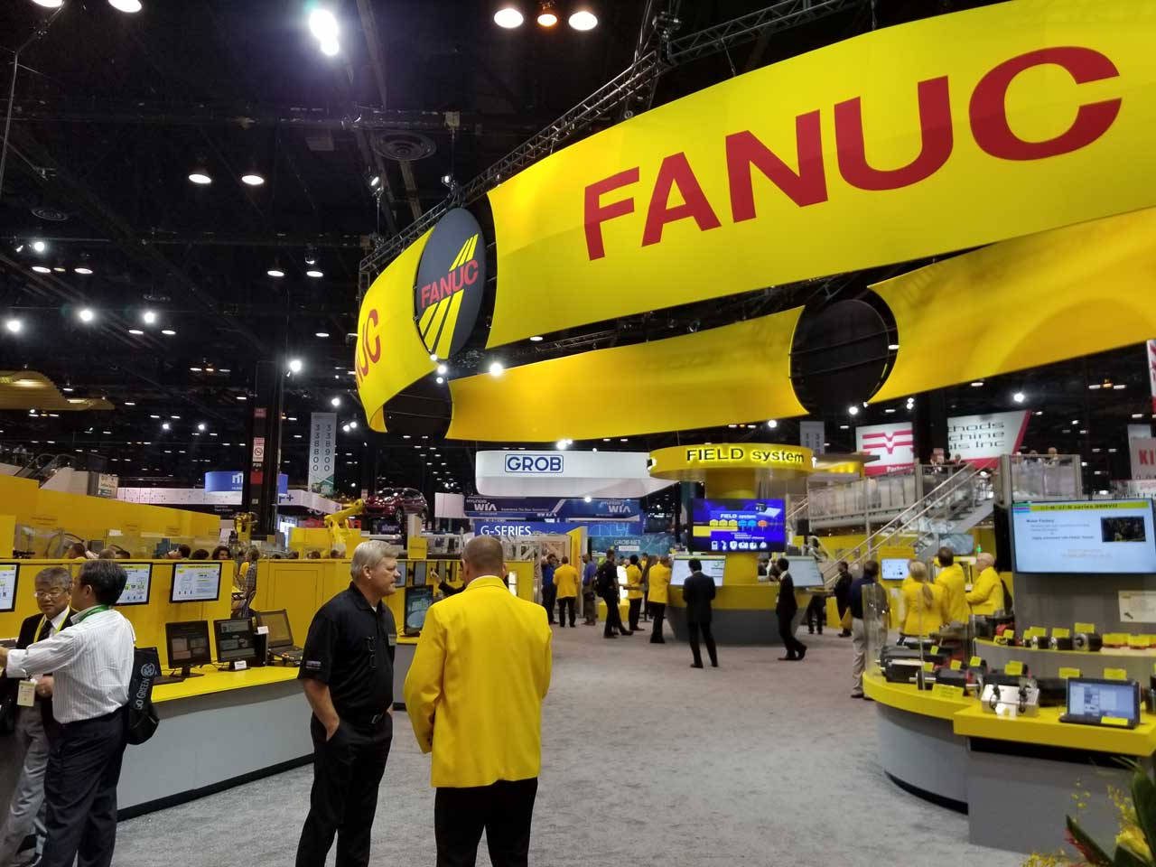 Fanuc booth at IMTS 2018