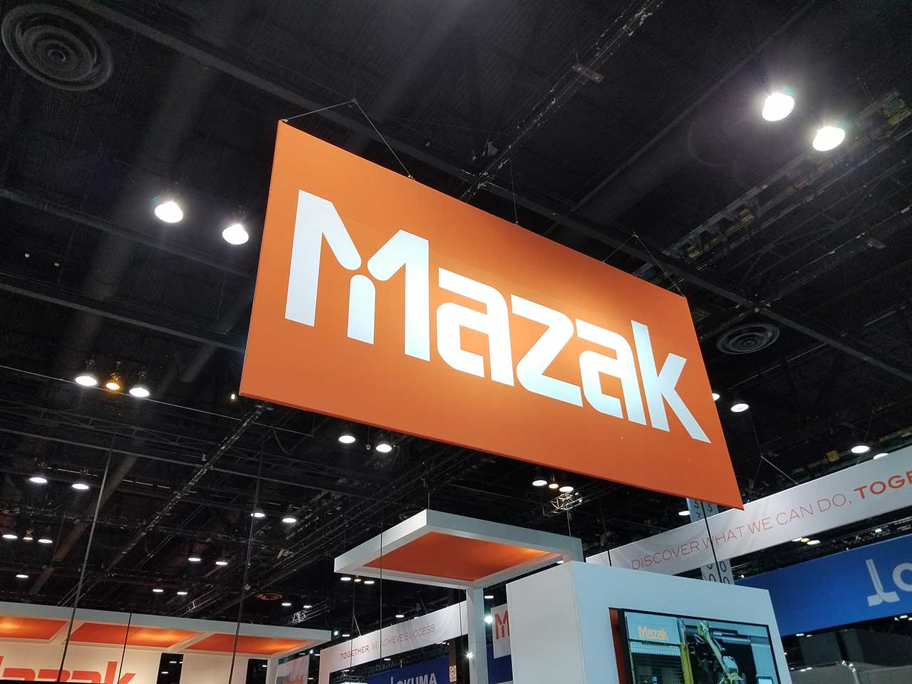 Mazak booth at IMTS 2018