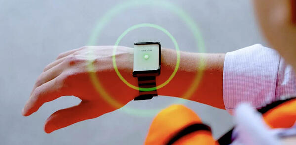 IoT contact tracing wearable