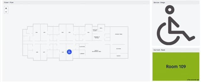 Example floor plan.