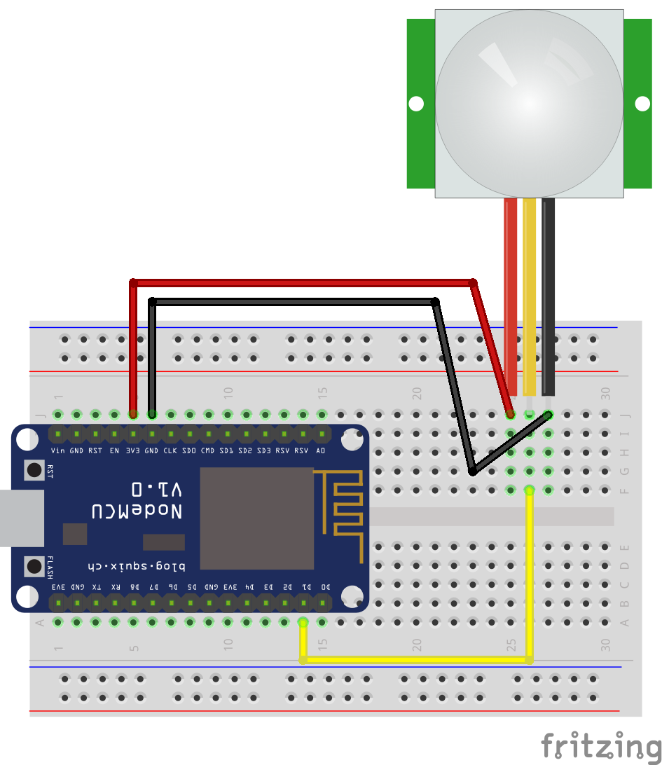 Github Nodemcu Auto Electrical Wiring Diagram Mongoose M350 Detecting Motion Using A Pir Sensor Esp8266 And