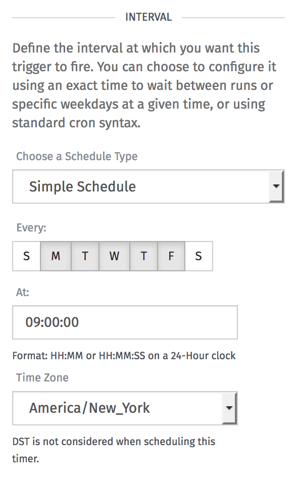 Timer scheduler