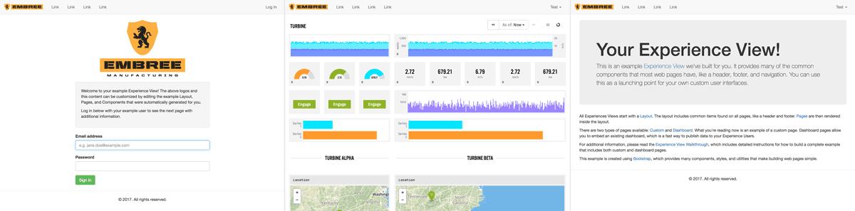 Losant IoT platform customized dashboards