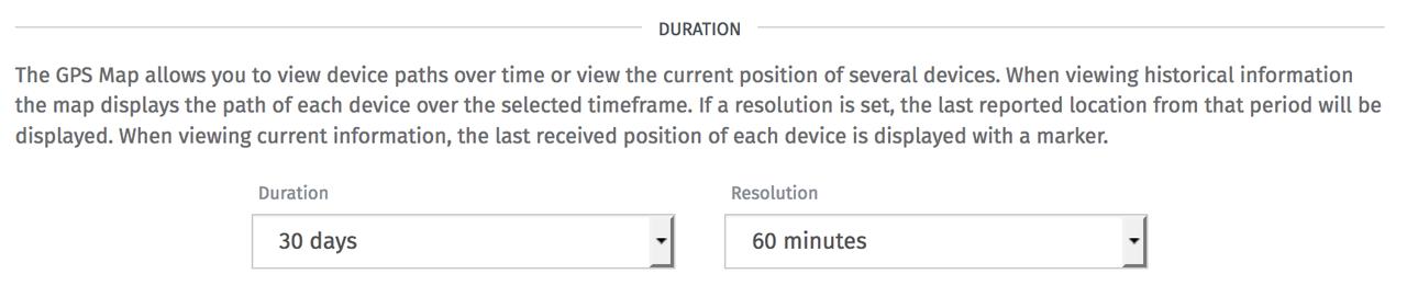 Losant GPS History block resolution configuration