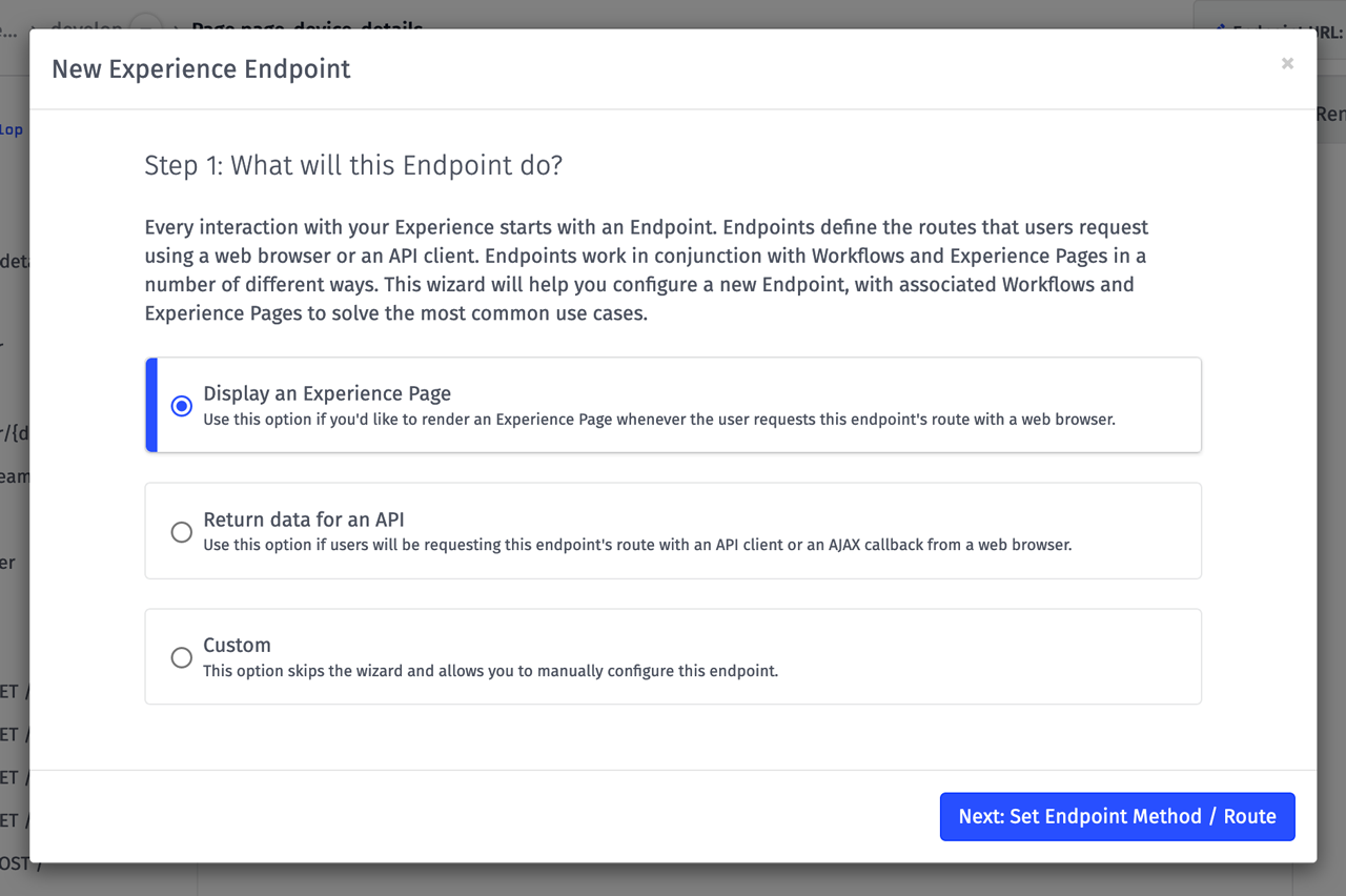 Losant Endpoint Wizard