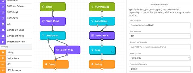 SNMP Workflow Nodes