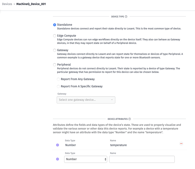 Create App Workflow in Losant