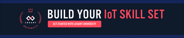 Losant University for IoT education