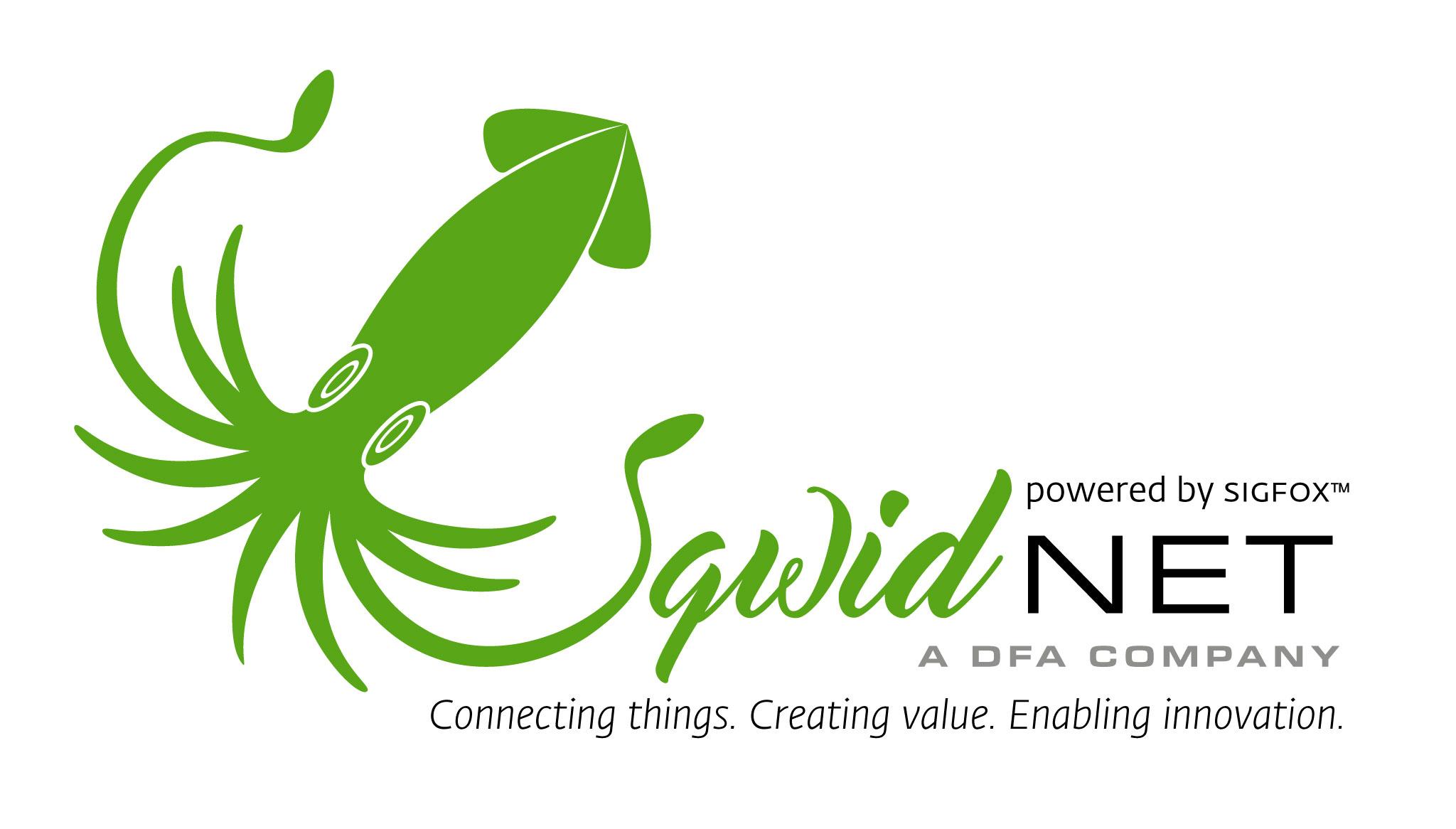 Squidnet IoT South Africa Logo