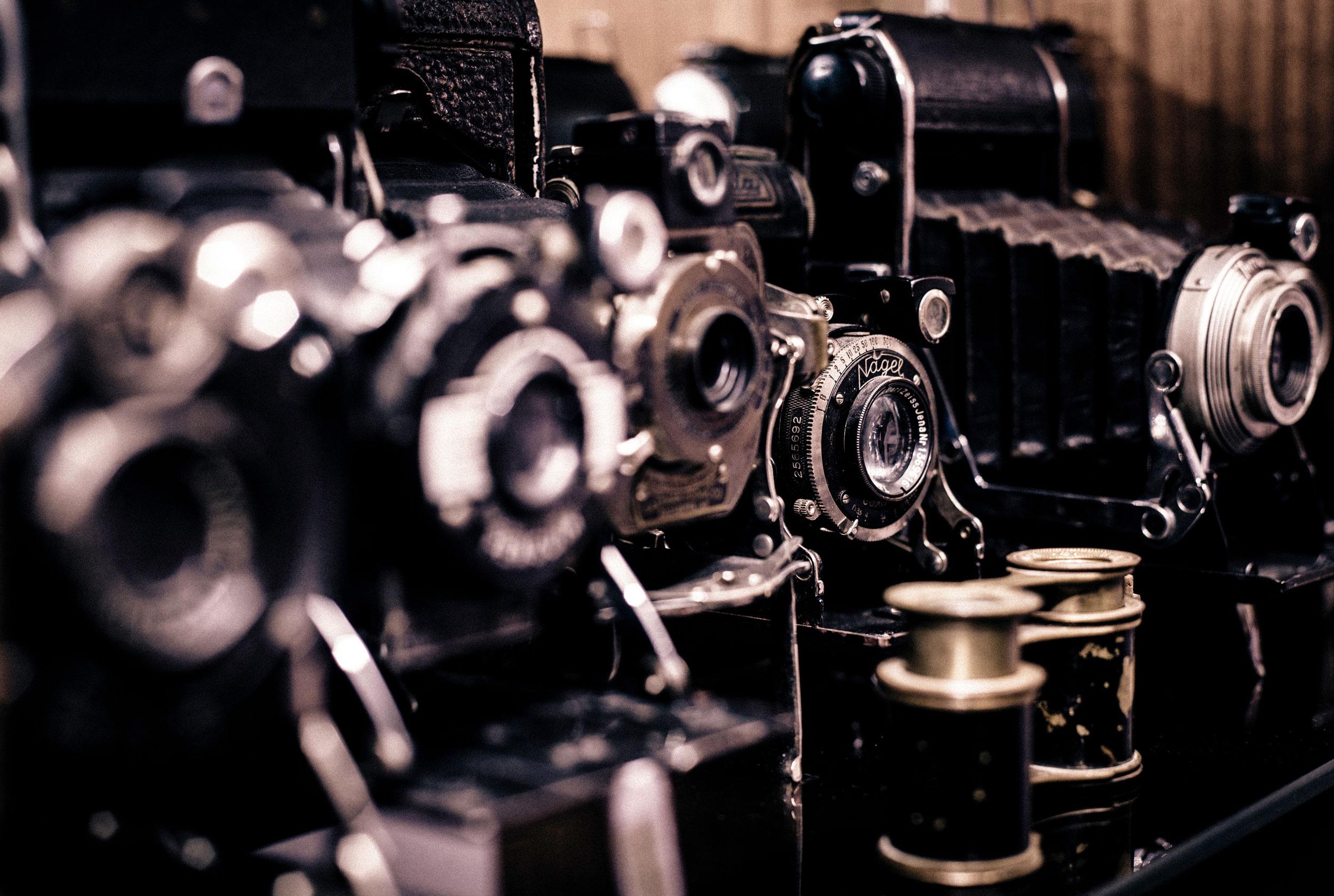 antique cameras