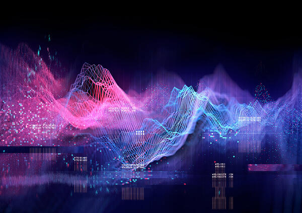 A visual representation of data