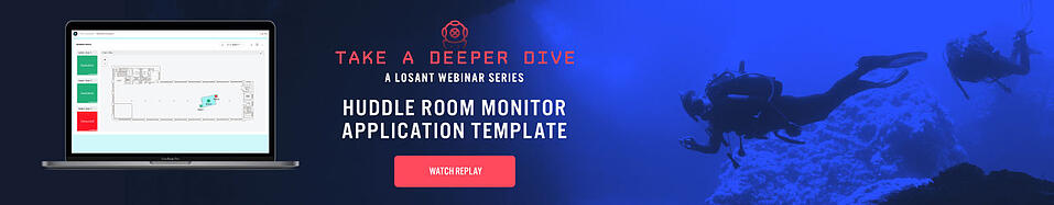 Watch the Deeper Dive Webinar Replay: Huddle Room Monitor Application Template