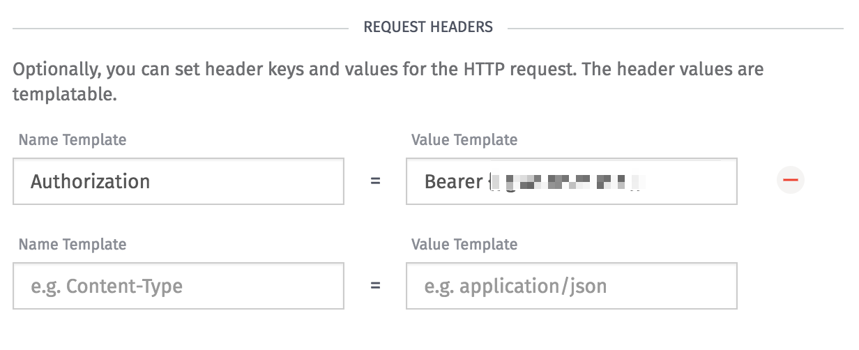 Losant HTTP Node Header Configuration