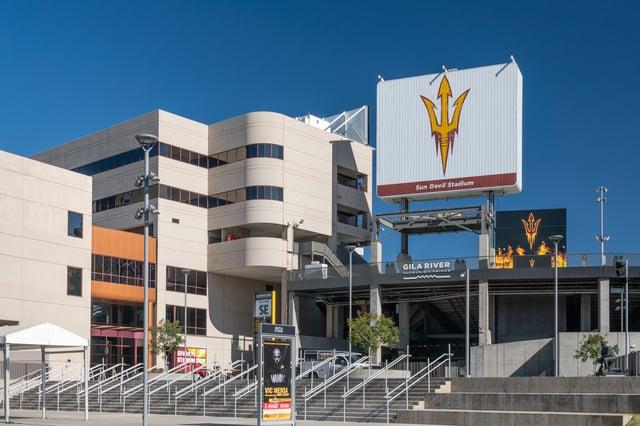 Sun Devil Stadium at Arizona State University