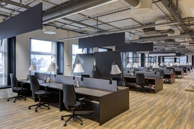 Modern industrial office space