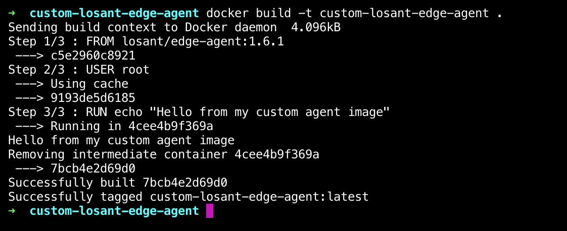 Build custom Losant Edge Agent