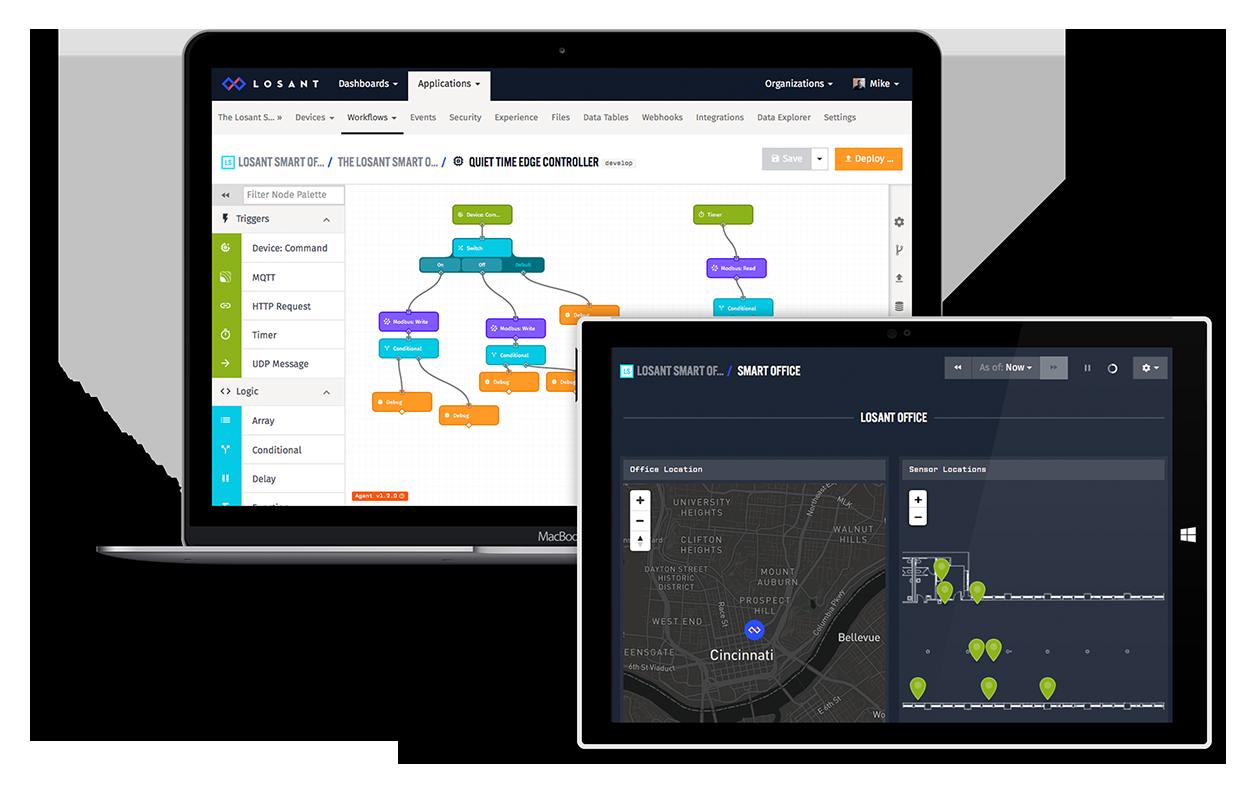 Smart Office Dashboard