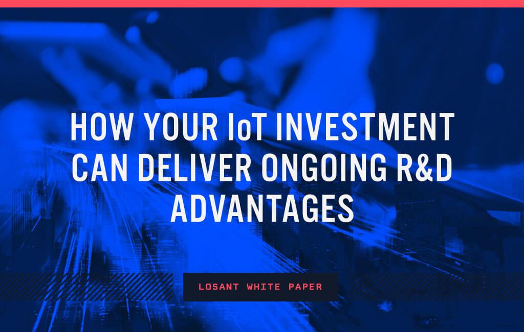 Beyond IoT Platform to Innovation R&D Partner