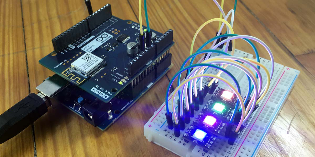 Control Your Arduino-Powered NeoPixels from a Losant Dashboard
